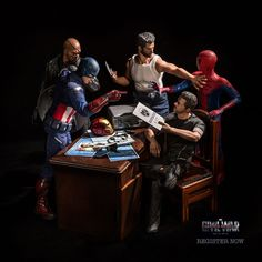 Hrjoe Photography - The Secret Lives of Superheroes | Man of Many