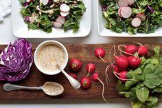 http://www.marlameridith.com/ ©Marla Meridith #kale #salad #vegetables