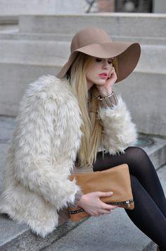 85e7e25fdd54a 32 Best Faux Fur Headbands...love  em! images