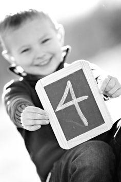 cute idea for Landen's birthday pictures Kids Birthday Photography, Sibling Photography, Toddler Photography, 4th Birthday Pictures, 4th Birthday Boys, Birthday Ideas, Photos Originales, Boy Poses, Boy Pictures
