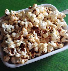 Antipasti veloci ricetta popcorn con paprika e parmigiano