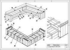 Zelf loungebank maken nodig? Klik hier voor gratis bouwtekeningen!