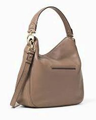 Michael Kors Large Selma in Camel Gorgeous large satchel in camel colored saffiano leather by Michael Kors. Features a zip closure detachable strap gold hardware 1 interior zip pocket and 4 slip pockets. Comes with dust bag and in great condition. A few signs of wear: scratches on the bottom feet a small mark on the front exterior left (can be seen in the first photo) a small light mark on the trim at the bottom (third pic) and a few light brown spots on the interior of the largest zip...