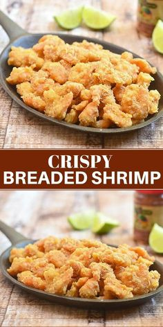 Crispy Breaded Shrimp for the ultimate seafood appetizer. With tender, juicy shr… Sponsored Sponsored Crispy Breaded Shrimp for the ultimate seafood appetizer. With tender, juicy shrimps and golden, crunchy coating, they're seriously addicting! Appetizers For A Crowd, Seafood Appetizers, Healthy Appetizers, Appetizer Recipes, Grilled Shrimp Recipes, Seafood Recipes, Seafood Dishes, Breaded Shrimp, Fried Shrimp