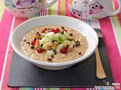 Porridge de café con manzana | Gastronomía & Cía