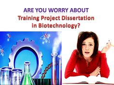 Dissertation project in biotechnology