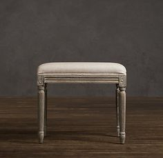 Louis Stool | Ottomans & Benches | Restoration Hardware