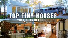 Viewer Favorites from 2019 Enjoy this look back at our top 5 tiny home videos of From unique tiny houses on wheels to a skoolie homestead, we share Flooded House, Multipurpose Room, Tiny House On Wheels, Tiny House Design, Tree Houses, Decorating Small Spaces, Small Homes, House Tours, Homesteading