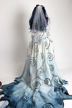 tim burton theme dress