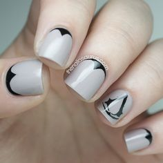 Assassin's Creed Nail Art | The Nailasaurus | UK Nail Art Blog