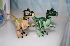 LEGO Jurassic World Set 75917 - New Dino Figures of DELTA & BLUE RAPTOR's #LEGO