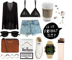 """""""viernes"""" by hanana4 ❤ liked on Polyvore"""
