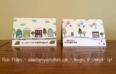 Stampin' Up! In the City - handmade by Paola Phillips