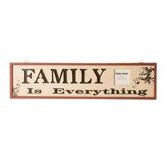 Family Is Everything Plaque