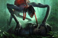 Demon - as seen  on http://chase-sc2.deviantart.com/art/Demon-206409641