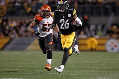 Post Super Bowl Edition: Power Ranking NFL's Top 50 Players - 21) Le'Veon Bell, RB, Pittsburgh Steelers  -  His value to the Pittsburgh Steelers was especially evident in the postseason; with Bell missing the playoff game due to a hyperextended knee, the Steelers mustered just 68 ground yards and no touchdowns versus the Baltimore Ravens.