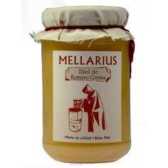 Miel de romero en crema Mellarius 500 gr.