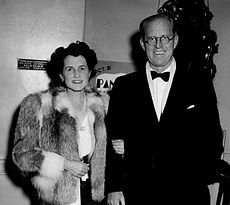 Photo of Joseph and Rose Kennedy as they arrive for dinner at the Colony restaurant in New York. At the time, Joseph Kennedy was the United States Ambassador to Great Britain. Rose Kennedy, Joe Kennedy Sr, Die Kennedys, Secretary Of The Navy, John Tyler, Irish Catholic, Franklin Delano, John Fitzgerald