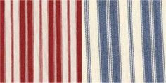 """Ticking - A tightly woven, very durable fabric made of cotton and used for work clothes, covering mattresses and pillows and can be made by using a plain, satin or twill weave construction originally of a blue and cream vertical striped fabric to make """"ticks""""."""
