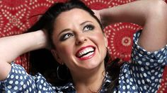 """Myf Warhurst 1974 (*source unknown) - Australian radio and TV personality, best known for work at Triple J and the ABC's """"Spicks and Specks"""". Terra Australis, Triple J, Childfree, New Boyfriend, Jennifer Aniston, Popular Culture, Great Photos, Role Models, Comedians"""