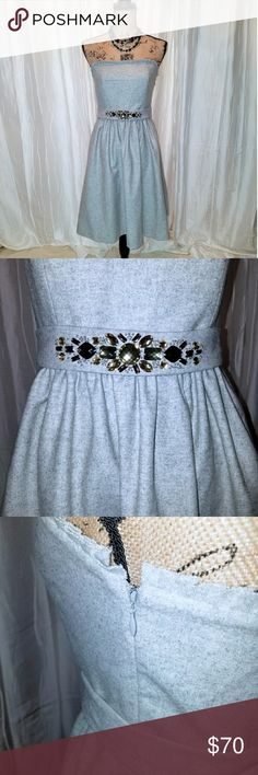 77ef3d3d4ef6  NWT  BR sun dress with jeweled belt  PRICE FIRM  Beautiful