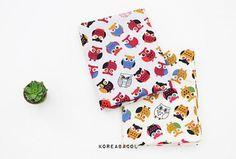 Owl fabric Owl pattern 158cmx90cm 100% Cotton 40s twill Scandinavian Fabric, Owl Fabric, Owl Patterns, Coin Purse, Cotton, Purse