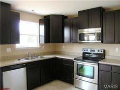 dark kitchen cabinets  – Remax.com