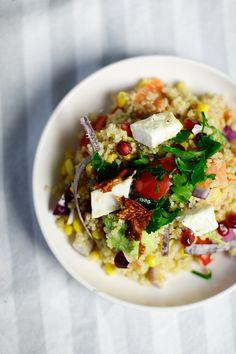 4 Weeks of Fitness - 15 Minuten Quinoa Salat - Berries & Passion
