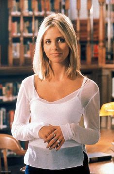 Sarah Michelle Gellar (Buffy <3) Borrowing this cuz it's so sweet.
