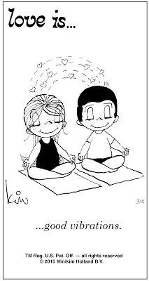 Pensamentos, Citações e Coisas do Género... Thoughts, Quotes and Those Sort of Things...: Amor é... boas vibrações.