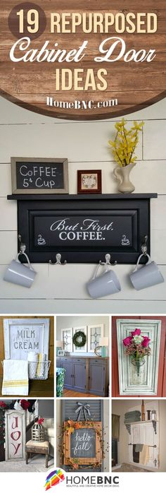 Repurposed Cabinet Door Design Ideas