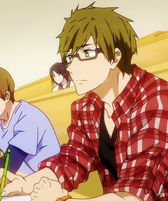 College Makoto. That's what I need in life. XP (I hope I find someone like Makoto, or any of the Free! boys, in college!)
