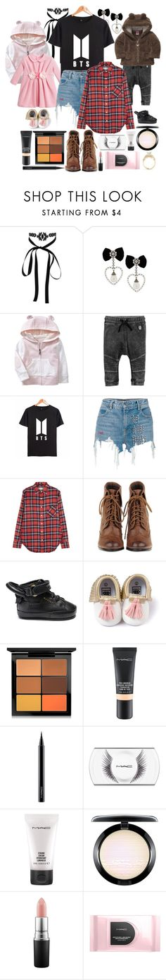 """🐞 Cheering 4 Daddy 🐞"" by tialua ❤ liked on Polyvore featuring Lipsy, Gap, Il Gufo, KOON, Alexander Wang, R13 and MAC Cosmetics"