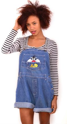 Vintage Overalls / Dungarees - Sylvester $59