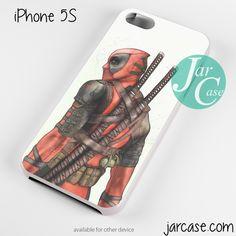 Badass Deadpool Phone case for iPhone 4/4s/5/5c/5s/6/6 plus