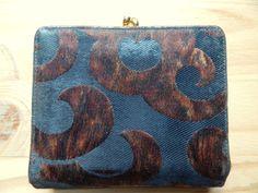 Modernist Koret Vintage 1960s Wallet by VintageZipper on Etsy