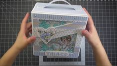 Mi cajita con otra coleccion little boy de Stamperia - YouTube Baby Album, Mini Albums, Decorative Boxes, Youtube, Scrapbooking, Friends, Videos, Carton Box, Crates
