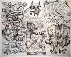 Tattoo Flash Sheets Aztec