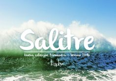 Locaplaya summer collection 2016: SALITRE