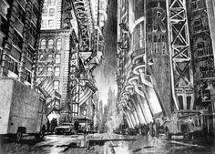 Gotham City - Anton Furst