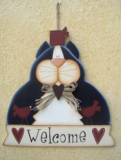 Gattone welcome by countrykitty, via Flickr