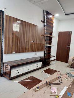 Tv Unit Furniture Design, Tv Unit Interior Design, Interior Work, Types Of Furniture, Interior Decorating, Bedroom Tv Wall, Bedroom Bed Design, Bedroom Furniture Design, Home Decor Furniture