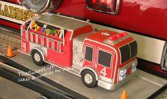Firetruck Cake 3-D. Photo only.