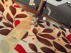 use masking tape as a guide for stitching!
