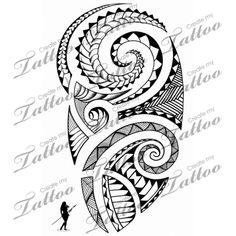 Marketplace Tattoo Polynesian Shoulder #5116 | CreateMyTattoo.com