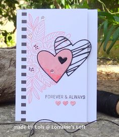 Lorraine's Loft: Simon Says Floral Bliss and Sketched Hearts