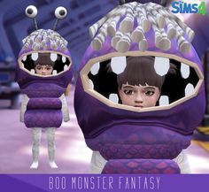 Grams Sims — Boo Fantasy F/M 2 Parts (head/body) U can find...