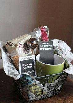 Coffee Fanatic Basket