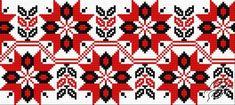 FREE PATTERNS - Ukrainian Embroidery - Ukrainian Embroidery - Ornament 97 - Gvello Stitch