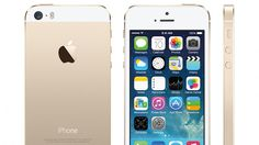 iPhone 5s gold edition :x